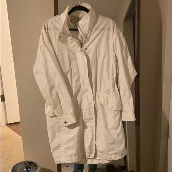 Athleta Parachute Jacket off white long